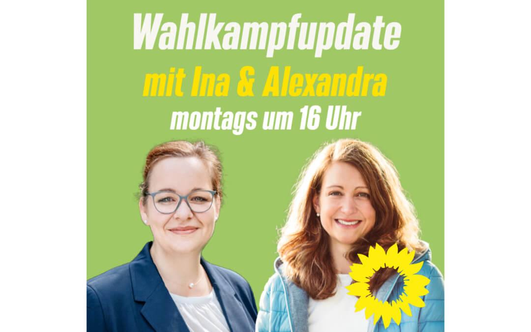 Wahlkampfupdate